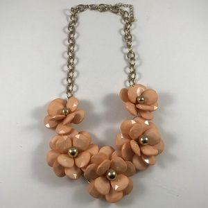 Stunning Vintage Statement Flower Necklace